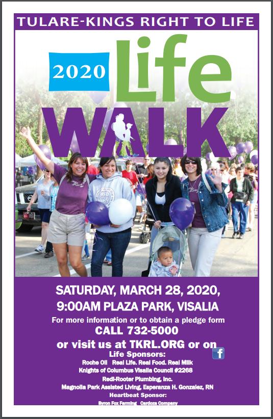 2020 Life Walk Flyer
